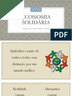 Aula Economia Solidária