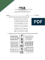 Evaluación de Pre Matematica IV