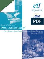 ETINI Drug Education in Schools