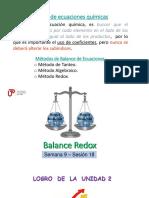 PPT Sem 09 Ses 18 Balance Redox