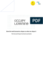 Occupy Learning  RESEARCH REPORT