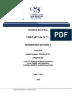 TAREA VIRTUAL N.°1 ING. METODOS