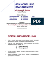 GIS Data Modelling and Mangement