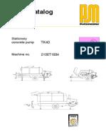 Bomba Horm TK 40 Seccion3 Manual de Piezas