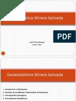 345508693 Geoestadistica Minera Aplicada Ppt