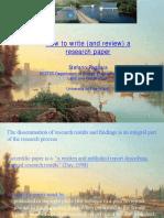 How to write a paper, por Pagliaria (Italia)