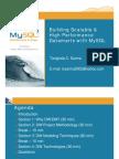 Building Scalable   High Performance Datamarts with MySQL Presentation