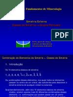 Aula 007a_Classes de Simetria