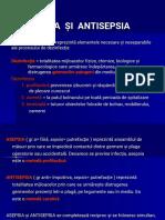 Prezentare Asepsia Si Antisepsia