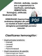 Chirurgie-Hemoragie-hemostaza