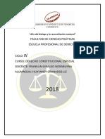 """""""Descentralización y Reforma Constitucional en El Perú Actual"""""""
