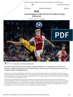Alles Over de Spelerswaarderingen in FM 2019 (en de Frenkie de Jong-shitstorm) - Voetbal International