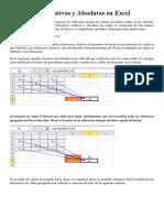 Funciones absolutas en Excel