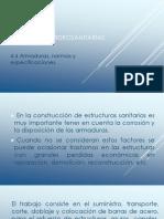 4. Armaduras, Normas y Especificaciones