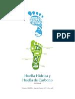 Huella Hídrica y Huella de Carbono