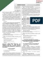 Ds 242-2018-Ef. Texto Único Ordenado Del Dl 1252
