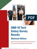 Dice 2009-10 Tech Salary Survey