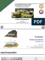 [04] Introducción Diseño de Pavimentos [Parámetros & Metodologías de Diseño]