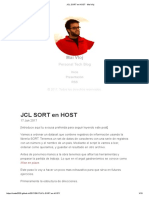 Jcl Sort en Host · Mai Vloj