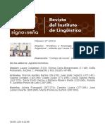 Fonetica Argentina