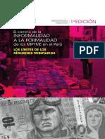 El camino de la INFORMALIDAD A LA FORMALIDAD de las MIPYME en el Perú