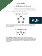 Tipos de Topología de Red