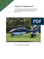 Como Funcionan Los Helicópteros