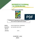 Problemas en La Reproducción, Producción, Cosecha y Post Cosecha de Leguminosas de Grano.