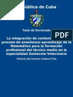 _La Integracion de Contenidos e - Collazo Frias, Victoria Del Car