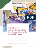 Artículo EBSCO El Teletrabajo Tras La Reforma Laboral