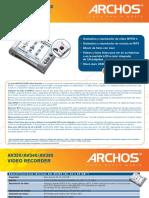 Archos Av300 Series Es