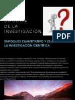 Metodologia, Enfoques Cuali y Cuantitativo