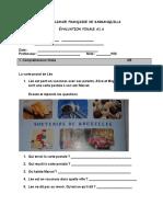 evaluation francés