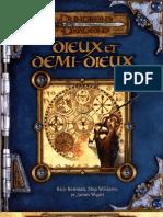 Dieux Et Demi Dieux D&D 3.5