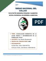 Informe N°2 Queso - Biocal