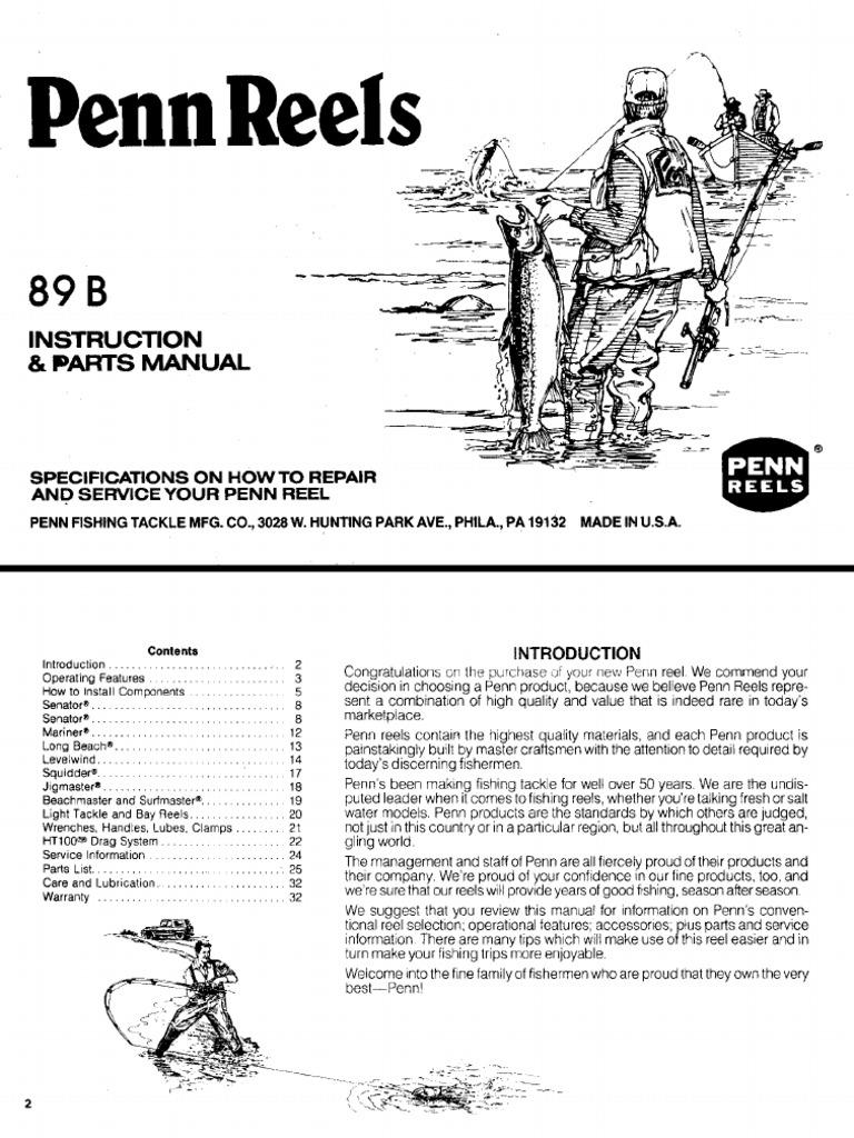 Penn reels manual pooptronica Images