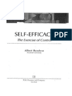 Self-efficacy, The Exercise of Control (1997)