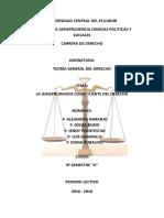 Jurisprudencia Completo