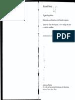 (Pensamiento contemporáneo, 11.) Richard Rorty-El giro lingüístico_ dificultades metafilosóficas de la filosofía lingüística-Ariel (1998).pdf