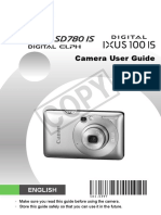 PowerShot SD780 Is