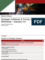 MOI IR4.0 Strategic Initiatives