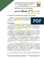RESOLUCIÓN N° 220-2017-A AGENTE MUNICIPAL puentes