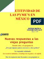 Present Imef Compettv en Las Pymes en Mexico Mayo 2007