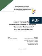 Proyecto Coorporacion Multifranquicia