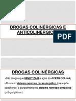 8 Drogas Colinergicas e Anticolinergicas