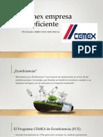 Cemex Empresa Ecoeficiente