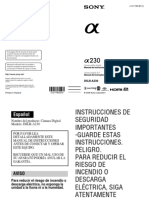 Dslra230 Es Pt manual camara sony