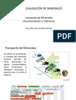 TRANSPORTE DE MINERALES