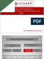 Organismo Responsable Para Elaborar Normas de Construccion en El Perú