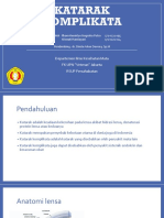 Referat Mata Katarak Komplikata (Ilham Henintyo 1710221055, Niswati Handayani 1710221024)